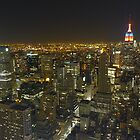 Top of the Rock @ Night - NYC by DrStantzJr