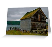 The Old Fish Hut Greeting Card
