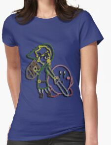 Link & Kirby's Epic Yarn Womens Fitted T-Shirt