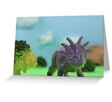 Dinosaur Greeting Card