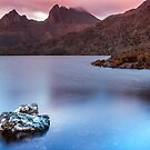 Light Delight - Dove Lake  by John Conway