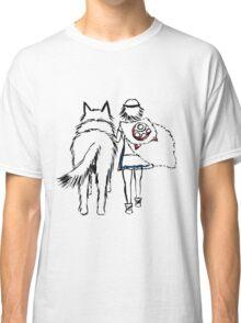 Princess Mononoke and Moro no Kimi Classic T-Shirt