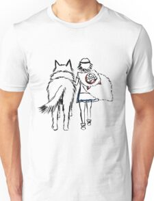 Princess Mononoke and Moro no Kimi Unisex T-Shirt
