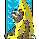 Banana Sloth by Sarah Hendricks
