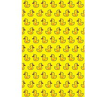 Lovely Duck Cartoon Pattern Photographic Print