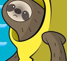 Banana Sloth Sticker