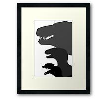 Jurassic Park Poster v1 Framed Print