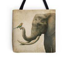 A New Friend (colour option) Tote Bag