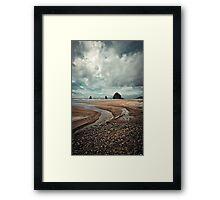 Haystack Flow Framed Print