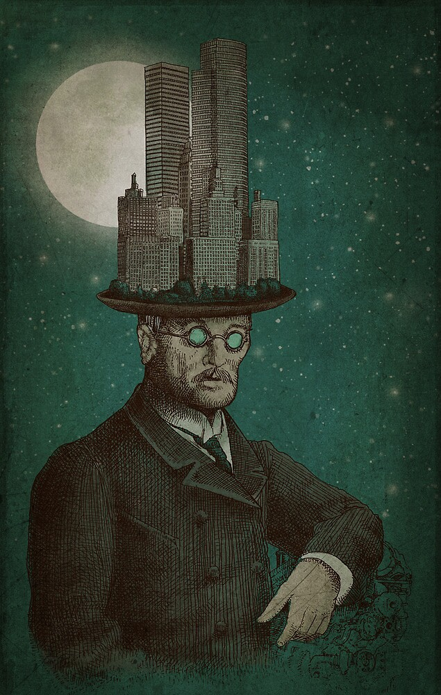 The Architect (colour) by Eric Fan