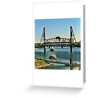 Hawthorne Bridge Greeting Card
