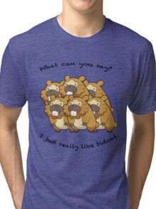 I just really like bidoof. Tri-blend T-Shirt