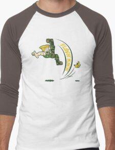 Flash Kick Men's Baseball ¾ T-Shirt