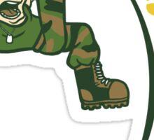 Flash Kick Sticker