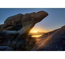 Sunset Pinch Photographic Print