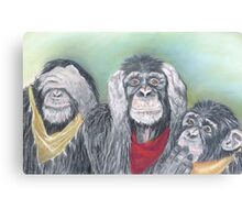 Wise guys!!! Canvas Print