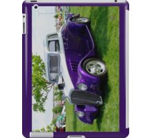 Purple Rod 1 iPad Case/Skin