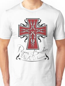 usa warriors cross by rogers bros Unisex T-Shirt