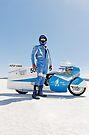 Brett de Stoop and his Suzuki GT 750 by Frank Kletschkus