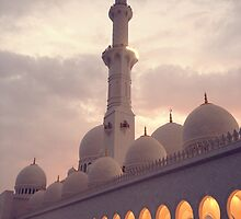 Zayed Grand Mosque West Wing by Omar Dakhane