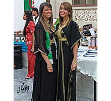 Algerian Traditional Fashion Photographic Print