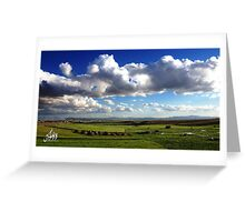 Algerian Landscape Greeting Card