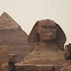 Pyramid and Sphinx by Designer023