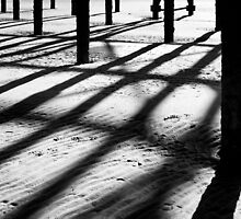 Pier Shadows by maxblack