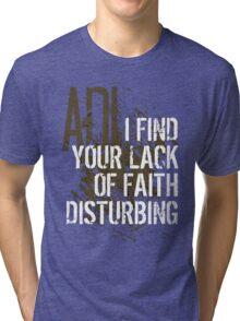 Darth V Tri-blend T-Shirt
