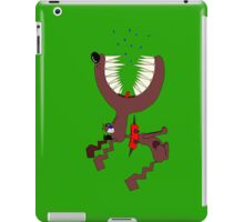 Angry DOG green iPad Case/Skin