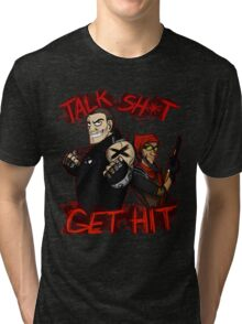 brick and mordy  Tri-blend T-Shirt