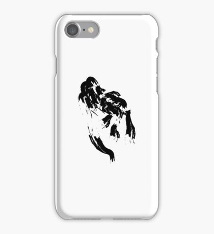 F // Black on White iPhone Case/Skin