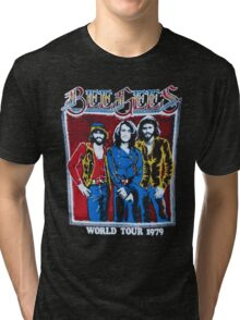 BEE GEES WORLD TOUR Tri-blend T-Shirt