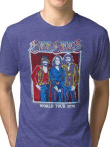 BEE GEES WORLD TOUR Tri-blend T-Shirt