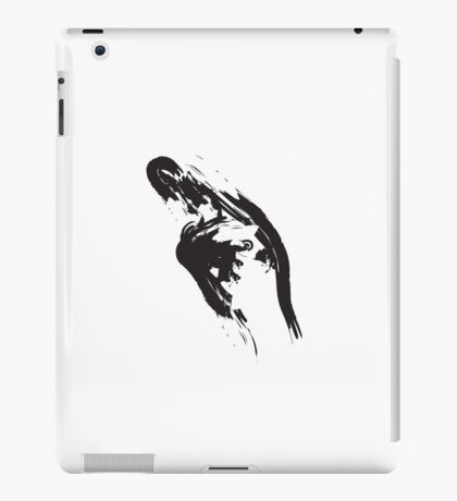 U // Black on White iPad Case/Skin