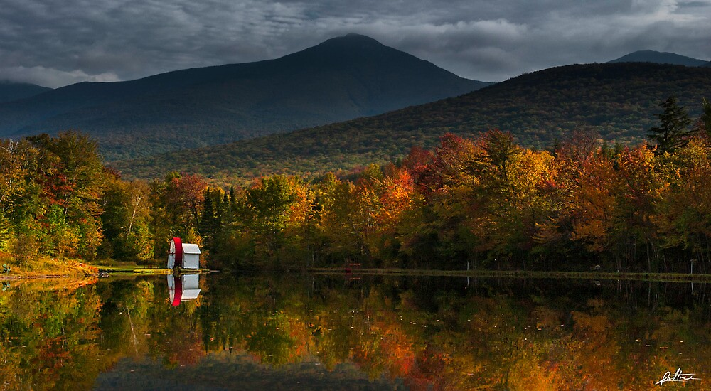 New England Fall by redtree