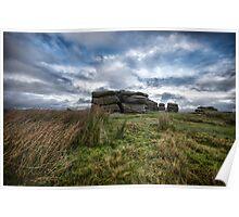 Combestone Tor Dartmoor Poster