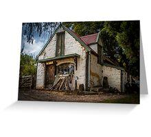 Luthier's Cottage, Montsalvat, Victoria, Australia Greeting Card