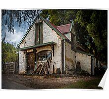Luthier's Cottage, Montsalvat, Victoria, Australia Poster