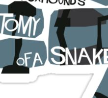 Anatomy Of A Snake Sticker