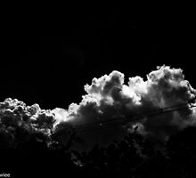 Happiness is...Imagination in B&W sky...Got Featured Work:) by Kornrawiee