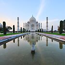 The Taj Mahal by PhotoStock-Isra