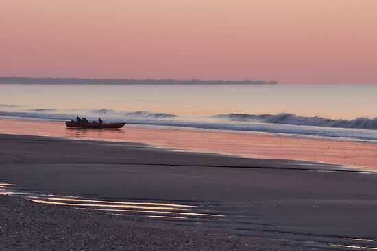 Sunrise at Edisto Beach by JHRphotoART