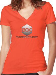 TOMORROW'S HARVEST - BOC Women's Fitted V-Neck T-Shirt