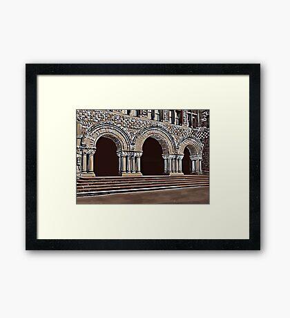 Harvard-Entrance to law school , c1900 Framed Print