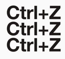 Ctrl+Z by Jim  Tuckwell