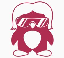 Cool Penguin Girl by Style-O-Mat