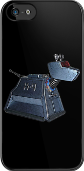K-9 from Dr Who (Black Case) by Marjuned