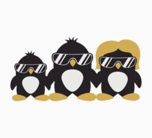 Cool Penguin Family T-Shirt