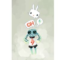 Bunny Doll Photographic Print